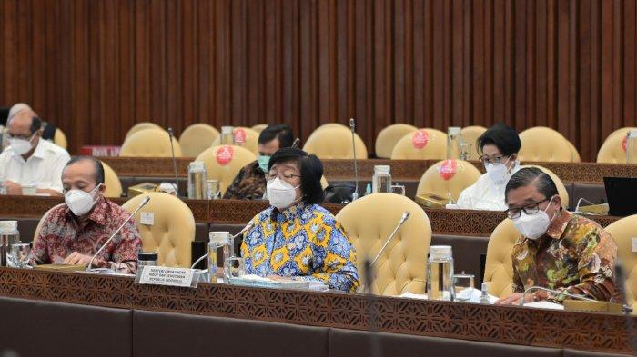 Raker Komisi IV DPR RI, Soroti Dana Alokasi Khusus (DAK) Bidang Lingkungan dan Kehutanan TA 2022