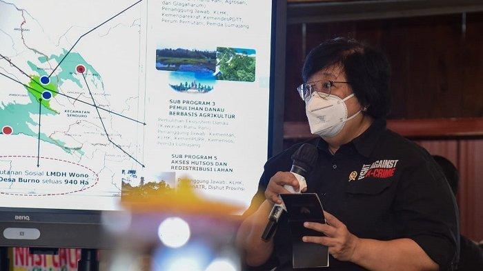 Menteri LHK Siti Nurbaya Dorong Pengembangan Wilayah Terpadu dengan Basis Hutan Sosial