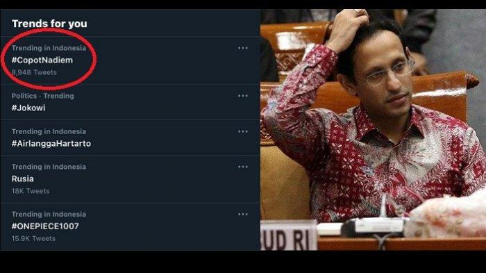 Hasil Survei Ini Sebut Tak Berlebihan jika Nadiem Makarim Di-Reshuffle, Berikut Penjelasannya