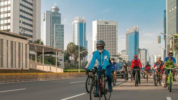 Menperin Jajal Sepeda Buatan Bogor, Sebut Lebih Baik dari Brompton