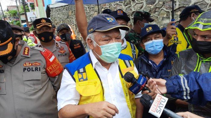 Perumahan Pondok Gede Permai Berubah Jadi Jeram, Menteri PUPR : Penanganan Banjir Harus Sistemik