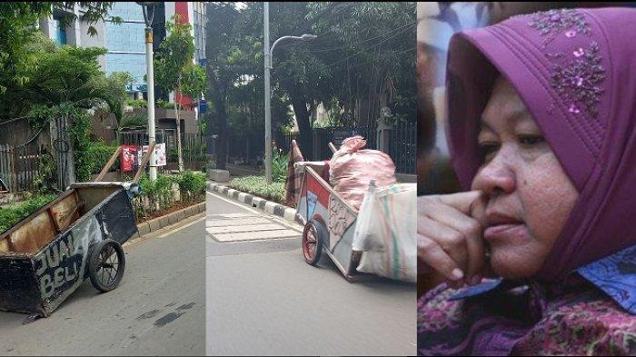 Ramai Soal Mensos Risma Blusukan, Tunawisma Mulai Marak Ditemui di Jakarta Pusat, Ini Kata Sudinsos