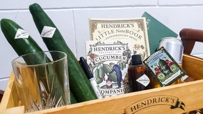 Cara Hendrick's Gin Gelar Perayaan Mentimun Dunia Berlaku Mulai Besok