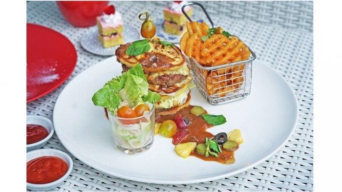 Ini 3 Menu Unik dari Best Western Premier The Hive, Salah Satunya Menara Burger Pancake dan Beef
