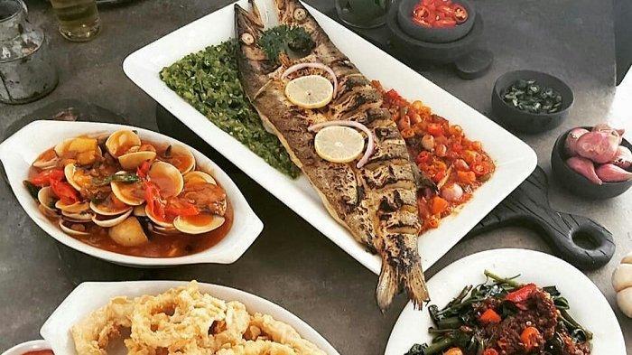 Menu seafood Teras Kuring