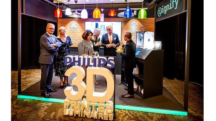 Signify Siap Dirikan Pabrik Cetak Luminer 3D danPusat Litbang untuk kawasan ASEAN di Indonesia