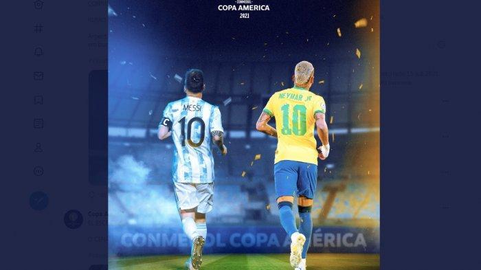 Messi Bakal Mengerikan di Final Copa America, Tite Klaim Tahu Cara Menghentikannya Tapi Rahasia