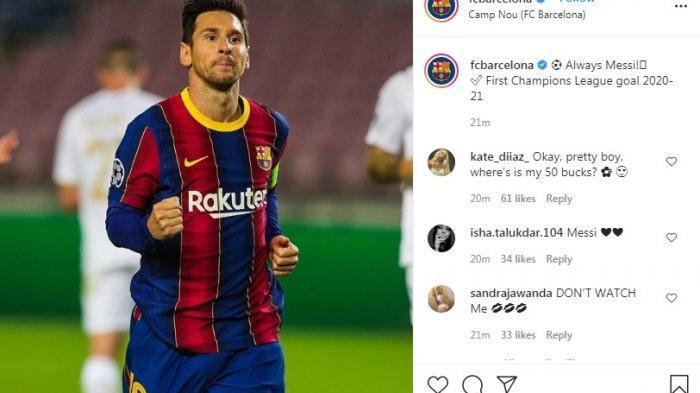 Hasil Babak Pertama Barcelona Vs Ferencvaros 2 0 Gol Dicetak Lionel Messi Dan Ansu Fati Warta Kota
