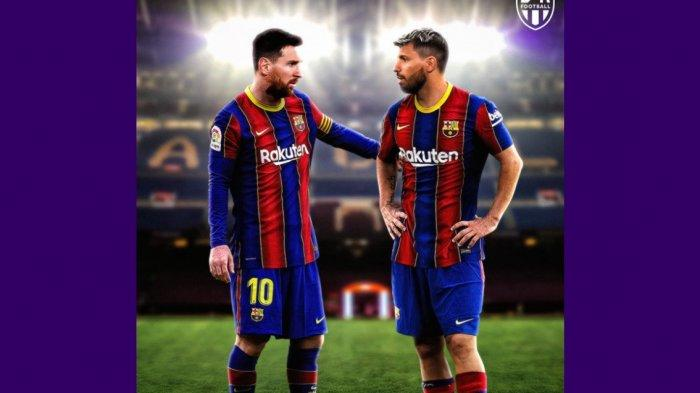 Profil Sergio Aguero, Dikabarkan Setuju Kontrak 2 Tahun dengan Barcelona, Demi Lionel Messi?