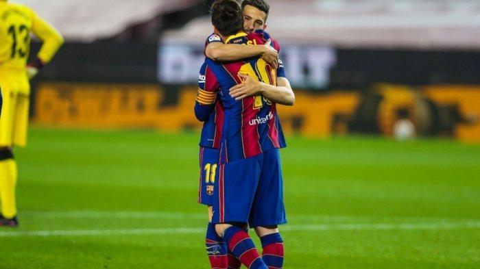 Hasil Babak Pertama Barcelona vs Getafe 3-1, Dua Gol Messi, Satu Gol Bunuh Diri, Barca Perkasa