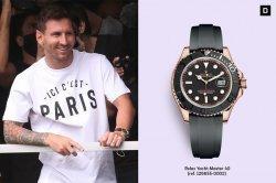 Messi Pakai Rolex Yacht-Master