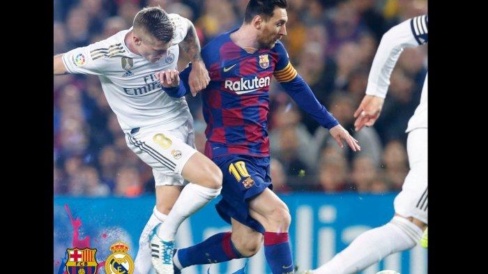 Starting XI dan Live Streaming Barcelona vs Real Madrid, Sergio Ramos Siap Hadang Lionel Messi