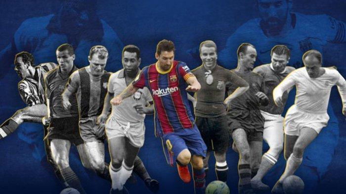 Messi berhasil menciptakan rekor gol sebanyak 643 dalam satu klub yang dibelannya