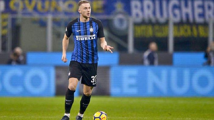 Sedang Berlangsung Babak Kedua Inter Milan vs Atalanta 1-0, Gol Bek Milan Skriniar Menit 54