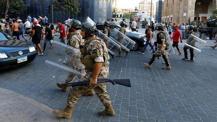 Setelah Ledakan di Beirut, DPR Lebanon Beri Kewenangan Penuh Militer Kendalikan Negara