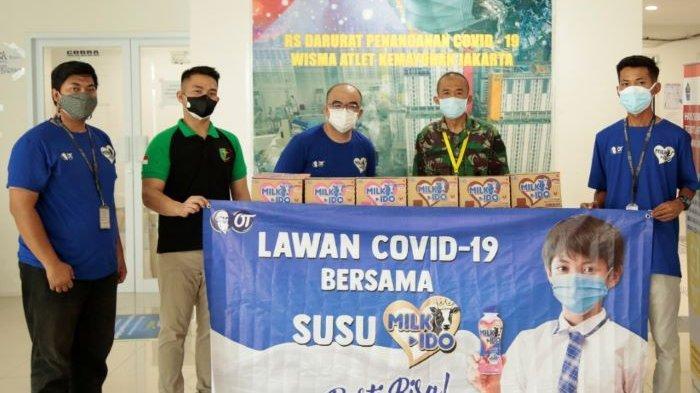 Luncurkan Susu Milk-Ido, OT Group Kirim Donasi 5.000 Paket Susu ke RSD Wisma Atlet dan Panti Asuhan