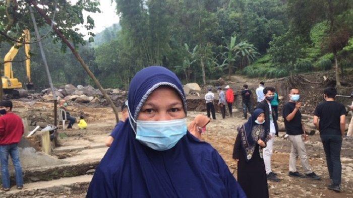 Meski Senang bisa Kembali Pulang ke Rumah Tapi Minah Masih Waswas Hujan Besar dan Banjir Susulan