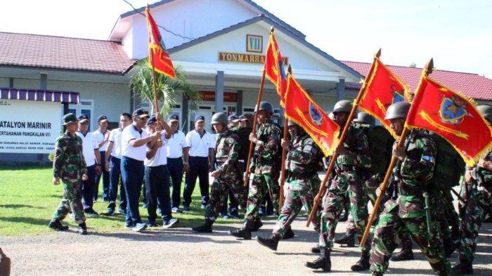 Minggu Militer Prajurit Yonmarhanlan VII Gelar Hanmars & Bakti Sosial