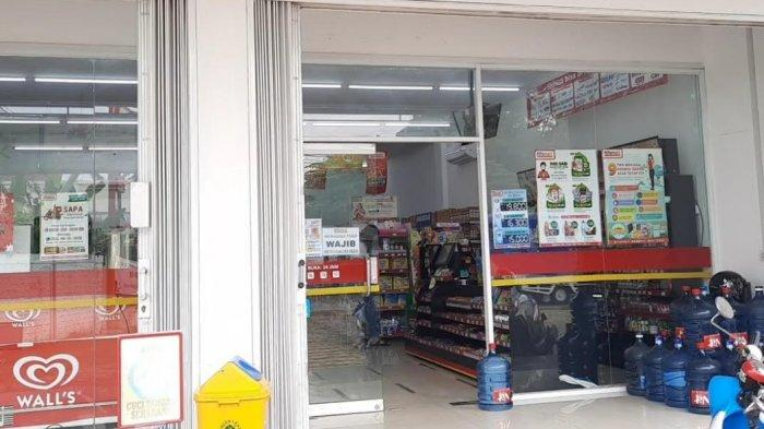 Perampok Minimarket Muncul Lagi, Kali Ini Sasar Minimarket di Jalan Buaran Tangsel, Pelaku 2 Orang