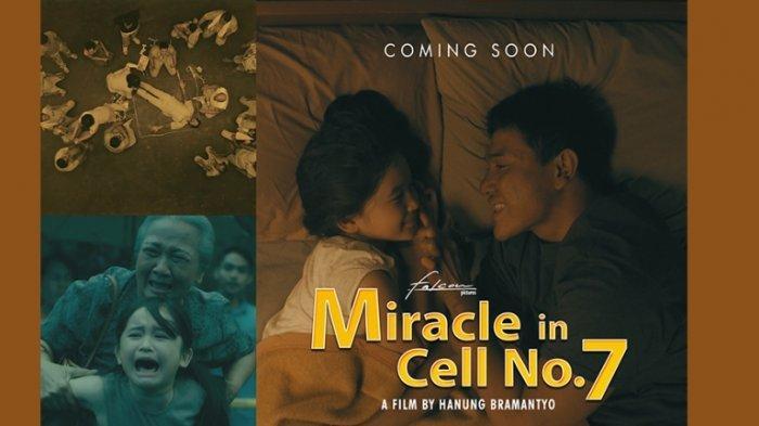 Film Miracle In Cell No 7 yang laris di Korea Selatan, diangkat dan dibuat ulang Falcon Pictures bersama sutradara Hanung Bramantyo. Setelah menyelesaikan proses syuting, film Miracle In Cell No 7 merilis foto-foto adegan secara ekslusif, Senin (11/5/2020).