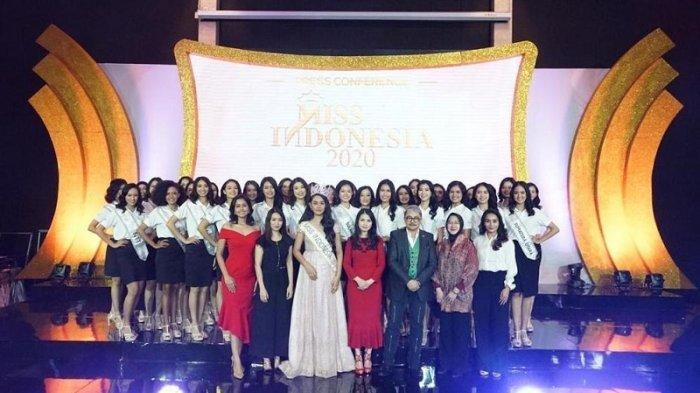 Mahkota Miss Indonesia Bertema Merah Putih, Liliana Berpesan: Lakukan yang Terbaik untuk Indonesia