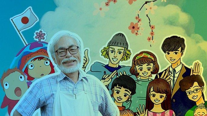 Hayao Miyazaki Animator Jepang Bakal Berbagi Ilmu di Platform Vision+