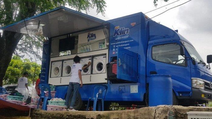 Wings Peduli Banjir Jabodetabek,Kirim Bantuan Makanan hingga Mobil Cuci Pakaian