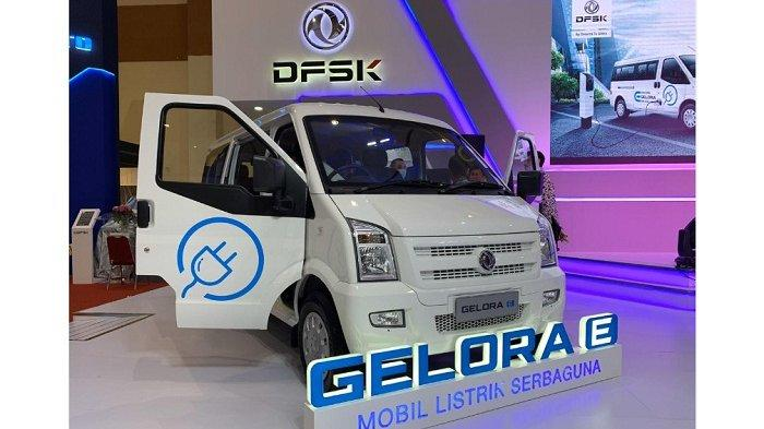 GIICOMVEC 2020 Rilis, Ini Spesifikasi dan Harga Mobil Niaga Listrik DFSK Gelora E dan Tipe Bensinnya