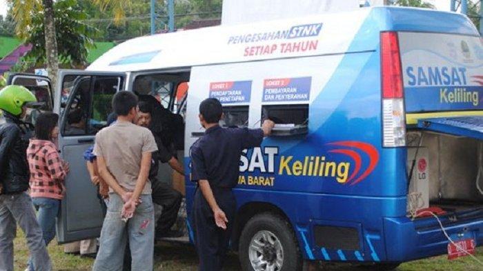 UPDATE Samsat Keliling Jumat 10 September 2021 Wilayah Jakarta, Depok, Tangerang dan Bekasi