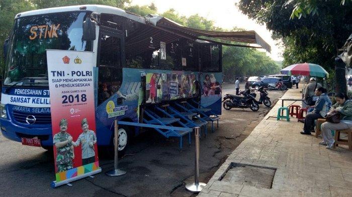 Lokasi SIM Keliling dan Lokasi Gerai Samsat di Jakarta Depok dan Bekasi Senin (3/9) Ini