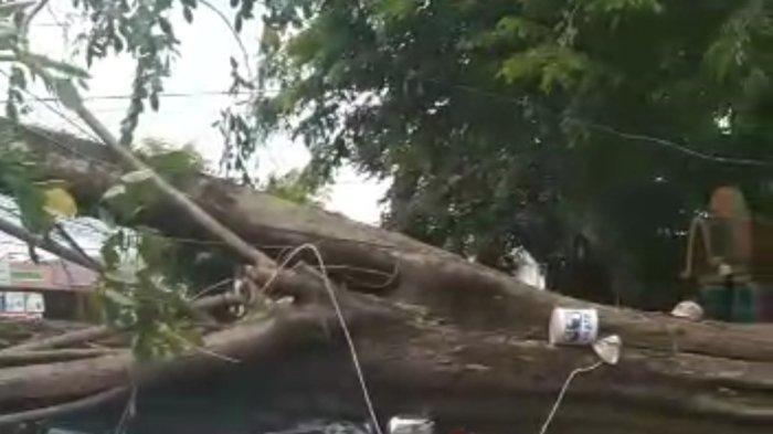 Angin Puting Beliung Kembali Porak-porandakan Kota Depok Hari Ini