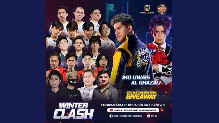 Menanti Aksi Iko Uwais dan Al Ghazali di Film Pendek Winter Clash, Kejutan Akhir Tahun MLBB