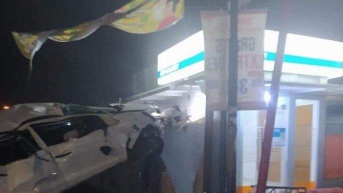 Honda Mobilio Tabrak Tembok, 2 Orang Tewas, 1 Luka Berat, Polisi Pastikan Tak Ada Penumpang Lain