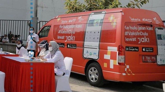 UPDATE Jadwal Mobil Vaksin Keliling Selasa 3 Agustus 2021 Tersebar di 8 Lokasi DKI Jakarta