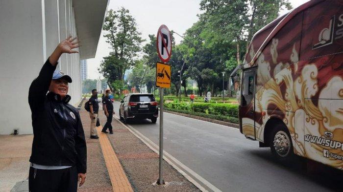 Ketum PSSI Mochamad Iriawan Pantau Langsung Latihan Timnas U-19 Di Stadion Madya Senayan