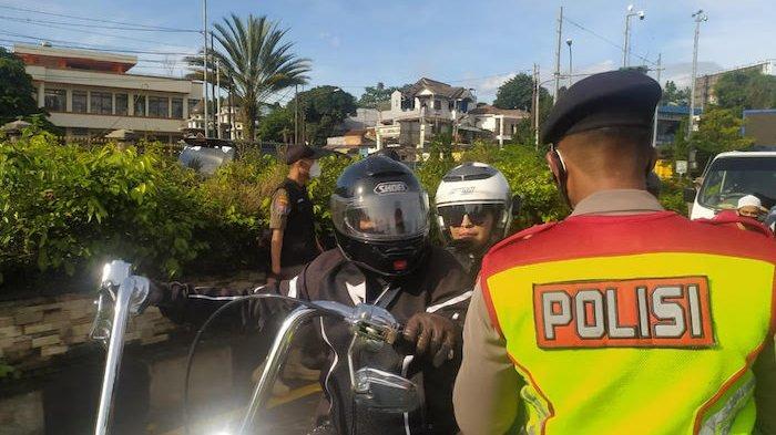 Viral Rombongan Moge di Puncak, Kapolres Bogor: Mereka Bawa Dokumen Rapid Antigen
