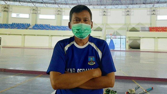 Mohamad Apip pelatih tim putra hoki indoor Banten menargetkan medali emas pada PON XX Papua