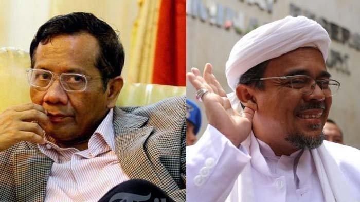 Menko Polhukam Mohammad Mahfud MD menegaskan tidak ada rencana rekonsiliasi dengan Imam Besar FPI Muhammad Rizieq Shihab (MRS) karena permintaan yang diajukan terlalu tinggi.