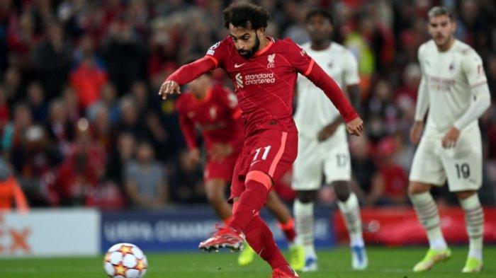 Sedang Berlangsung Liverpool vs AC Milan 1-0, The Reds Kepung Rossoneri, Sayang Penalti Salah Gagal
