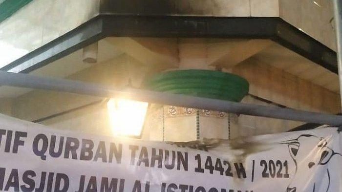 Update Pelemparan Bom Molotov ke Masjid Al-Istiqomah Cengkareng, Ini Kata Polisi