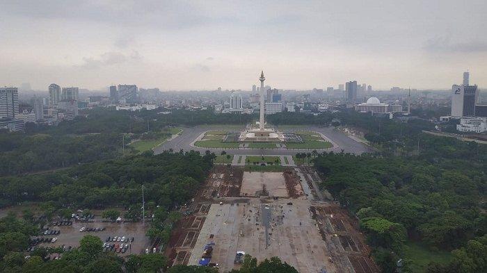 Belum Kantongi Izin, Mensesneg Minta Anies Baswedan Setop Revitalisasi Monas