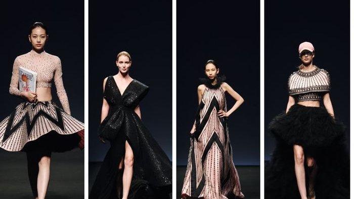 Busana Rancangan Monica Ivena Mewakili Indonesia di Ajang Star Fashion Week