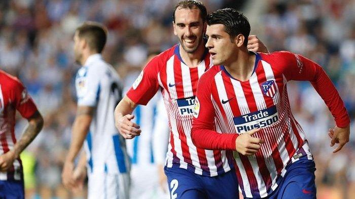 Babak Pertama Celta Vigo vs Atletico Madrid: Alvaro Morata Bawa Atletico Unggul Sementara