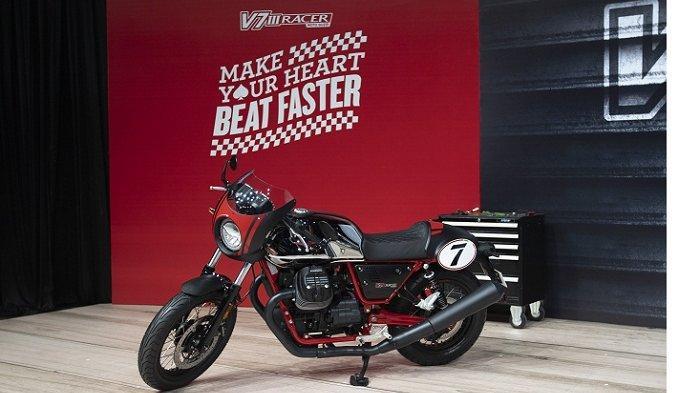 Moto Guzzi V7 III Stone dan Moto Guzzi V7 III Racer Tampil Klasik plus Kecanggihan Fitur, Harganya?
