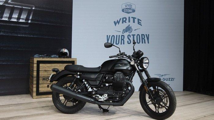 Moto Guzzi V7 III Stone diluncurkan Piaggio Indonesia, Selasa (15/12/2020).