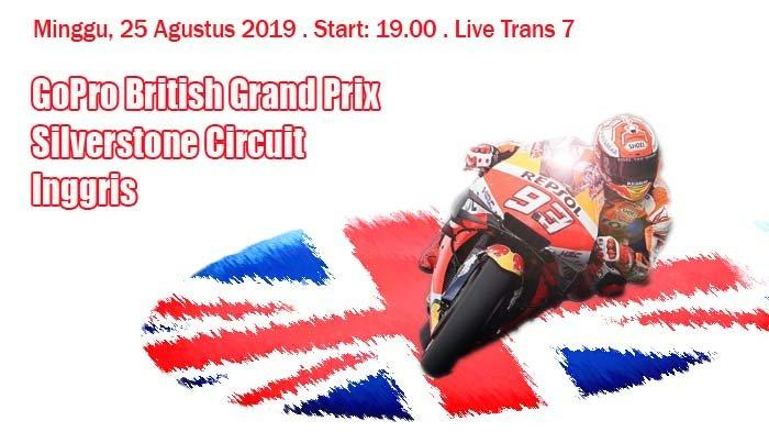 LIVE Streaming MotoGP Inggris 2019. Marc Marquez Sempat Jatuh Saat Latihan