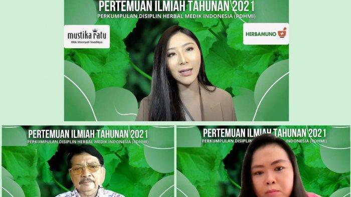 Mustika Ratu Dukung Pertemuan Ilmiah Tahunan Pertama Perkumpulan Disiplin Herbal Medik Indonesia