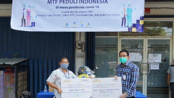 Lindungi Tenaga Medis dari Pandemi Corona, Mandiri Tunas Finance Salurkan APD ke RS Fatmawati