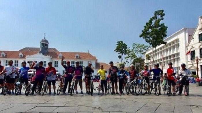 Komunitas MTF GOwes Sebarkan Edukasi Budaya dengan Bersepeda ke Obyek Wisata Bersejarah di Jakarta