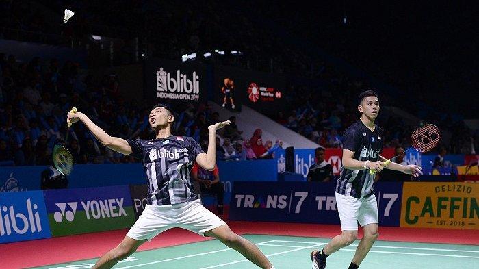 Fajar/Rian Melaju ke Babak Perempat Final China Open 2019